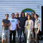 w/ Spottiwoode and His Enemies post in studio @ WDST Woodstock, NY